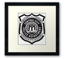 Central City Police Department Framed Print