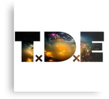 TDE Nebulae Metal Print