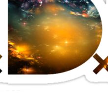 TDE Nebulae Sticker