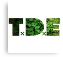 TDE Weed Canvas Print