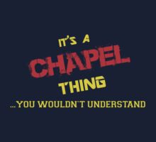 It's a CHAPEL thing, you wouldn't understand !! by itsmine