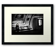 Le dernier Metro Framed Print