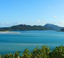 View from Whitsunday Island by Ben de Putron