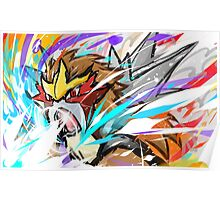Entei | Sacred Fire Poster