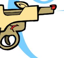 Raygun Q Sticker