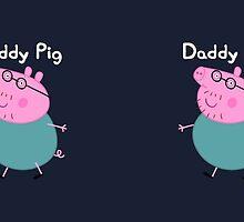 Daddy Pig Mug by Russ Jericho