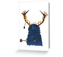A Dalek Christmas Greeting Card