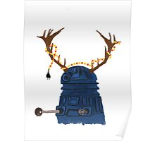 A Dalek Christmas Poster