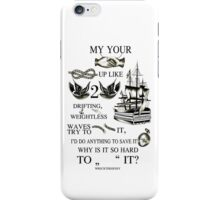 My hands, your hands iPhone Case/Skin