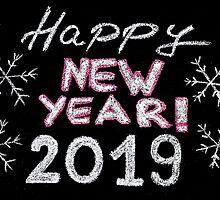 Happy new year 2019 by Stanciuc