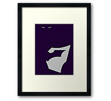 Dark Batman Framed Print