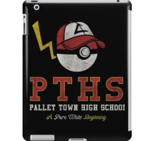 Pokemon Pallet Town High School iPad Case/Skin