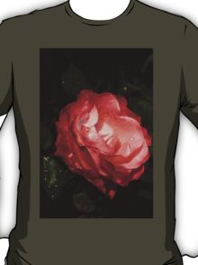A Gift From My Mother's Garden - Chiaroscuro Rose T-Shirt