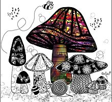 the Mushroom in Technicolor  by themighty