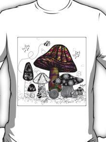 the Mushroom in Technicolor  T-Shirt