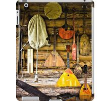 Folk musical instruments iPad Case/Skin