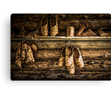 Bast Shoes For All Canvas Print