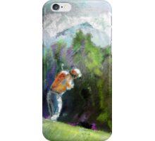Golf In Crans-Sur-Sierre 02 iPhone Case/Skin