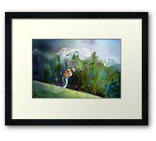 Golf In Crans-Sur-Sierre 02 Framed Print