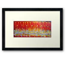 art for bek full length Framed Print