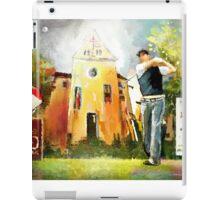 Golf In Club Fontana In Austria 01 iPad Case/Skin