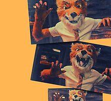Fantastic Mr. Fox - Roar! by Walter Rastelli