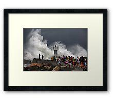 Wild Sea Framed Print