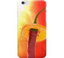 The Red, the Hot, the Chili iPhone Case/Skin