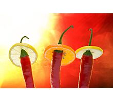 The Red, the Hot, the Chili Photographic Print