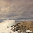 Peggy's Cove Surf by Sandy  McClearn