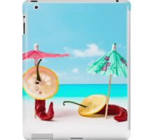 The Red, the Hot, the Chili in Acapulco iPad Case/Skin