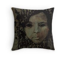 blank intention Throw Pillow