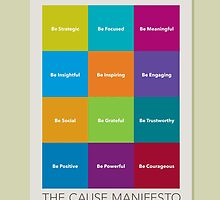 The Cause Manifesto Calendar by briansooy