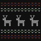 knitwear for all seasons - reindeer by Natalie Tyler