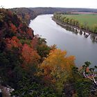 Fall Along The Osage River by Brion Marcum