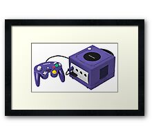 Gamecube console and controller Framed Print