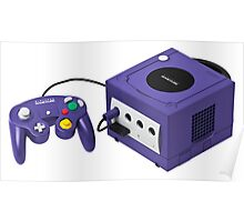 Gamecube console and controller Poster