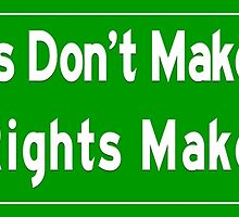 Wrongs and Rights by EyeMagined