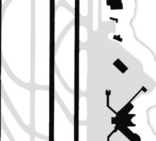Seattle–Tacoma Airport Diagram Sticker