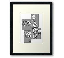 Cowboy Bebop Panels 2 Framed Print