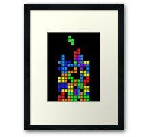 Tetris2 Framed Print