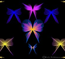 Fantasy Butterflies by DreamWeaver