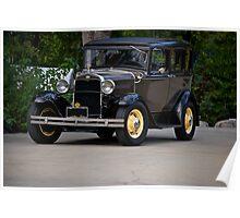 1931 Ford Model A Sedan Poster