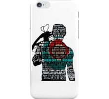 TWD Daryl Quotes iPhone Case/Skin