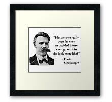 Friedrich Nietzsche Troll Quote Framed Print