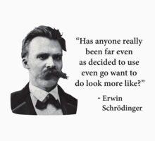 Friedrich Nietzsche Troll Quote by TheShirtYurt