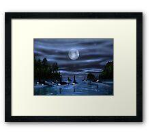 Pod of Orca Framed Print
