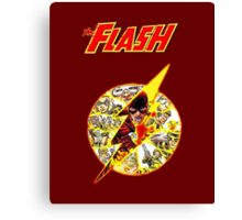 The Flash - Nerdy Must Have Canvas Print
