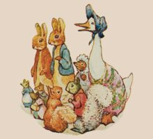 Children's Story Book Animals by dotpattern