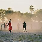 Bush soccer by CarolineKruger